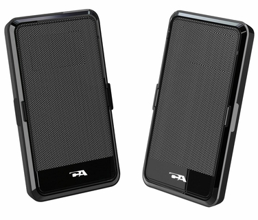 Cyber Acoustics CA-2988 Portable Laptop Speakers with Carrying Case