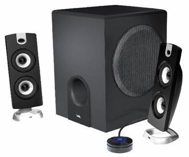 Cyber Acoustics CA-3602 2.1ch PC Speaker Set with Subwoofer