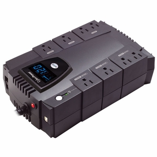 CyberPower CP825LCD 825VA / 450W 8-Outlet UPS