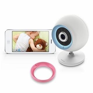 D-Link DCS-820L Wireless Security/BabyCam - 2-way Audio, Night Vision, Apple iOS/Android App & Remote PC Browser Access
