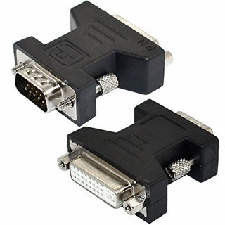 how to connect dvi to vga