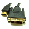 DVI to HDMI Cable 6 ft Male-Male