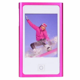 """Eclipse Supra Fit 8GB USB 2.0 Touchscreen Digital Music/Video Player w/Camera & 2.8"""" LCD (Pink)"""