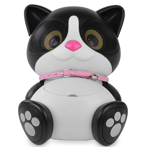 Electric Friends Ki Ki the Cat Speaker Docking Station for iPod & iPhone w/30-Pin Dock Connector