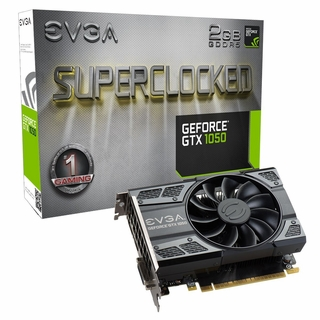 EVGA GeForce GTX 1050 SC GAMING, 02G-P4-6152-KR, 2GB GDDR5, DX12 OSD Support (PXOC)