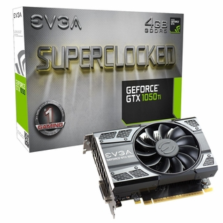 EVGA GeForce GTX 1050 Ti SC GAMING, 04G-P4-6253-KR, 4GB GDDR5, DX12 OSD Support Video Card