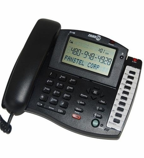 Fanstel Fan-St118B Large Screen 3-Line Display Phone With Caller Id