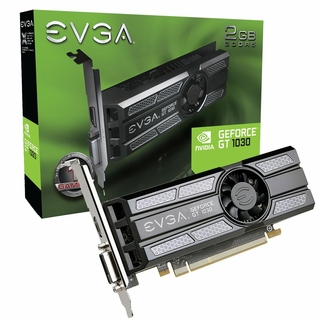GeForce 02G-P4-6333-K GT 1030 SC PCIE 2GB GDDR5 DVI-D HDMI 1290MHz Video Card
