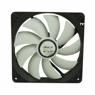 GeLid FN-SX14-10 Silent14 140mm Quiet Operating Computer Case Fan