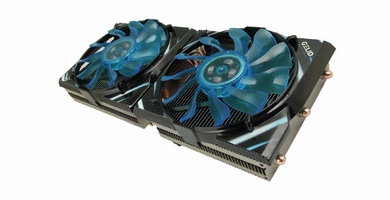 GeLid GC-VGA02-02 Icy Vision-A Video Card Cooler with Dual 92mm Fans
