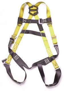 Gulfe HA003BK/YL 5-point Adjustable Safety Harness Black/Yellow