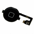 Home Button and Flex Cable for iPhone 4 Black