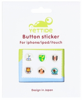 Home Button Stickers for Apple iPhone/iPad - English Soccer Teams