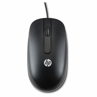 HP QY778AT 3-Button 1000dpi USB Mouse (Black)