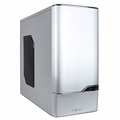 Ikonik CS6001WSL Silver Zaria A10 Mid-Tower ATX Computer Case with Side Window