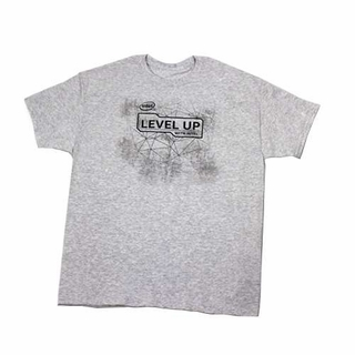 Intel T-Shirt Level Up With Intel