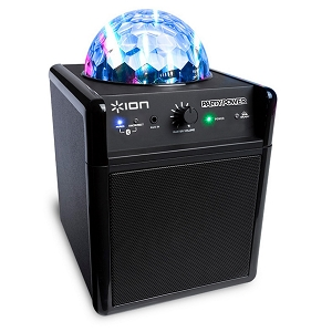 Ion Party Power iPA19C Bluetooth Portable Speaker System w/Party Lights