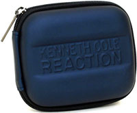Kenneth Cole Reaction R-Tech Rubber Molded BLUE Camera Case