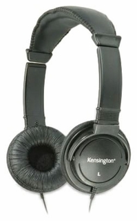 Kensington K33137 Supra-aural 3.5mm Headphones (Black)