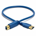 LD 1 ft USB 3.0 A Male to B Male Cable