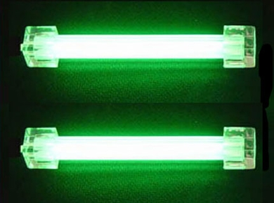 "Logisys CLK4GN2 4"" Green Dual Cold Cathode Green Case Light Mod Kit"