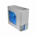 Logisys CS6002WSL Silver Zaria A20 Mid-Tower ATX Computer Case with Side Window