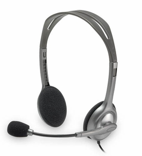 Logitech H110 3.5mm Stereo Headset with Boom Mic (OEM)