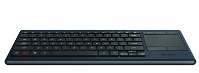 Logitech K830 Illuminated Living-Room Keyboard with Built-in ...