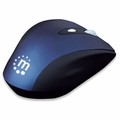 Manhattan Wireless 6-button Mouse with Adjustable 3-Level Resolution