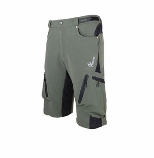 Mens Arsuxeo Cycling Bicycle Shorts Green XXL