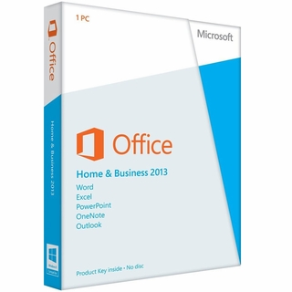 Microsoft Office Home & Business 2013 1PC/1User Software