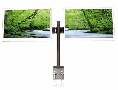 Monmount Dual Lcd Monitor Desk Clamp Free Shipping