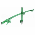 Monmount LCD-2230-GRN Green Curved Triple LCD Monitor Arm Mount
