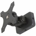 MonMount Short Pivot Adjustable Monitor Wall Mount