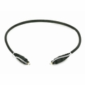 Monoprice 3395 S/PDIF (Toslink) Digital Optical Audio Cable, 18 inches