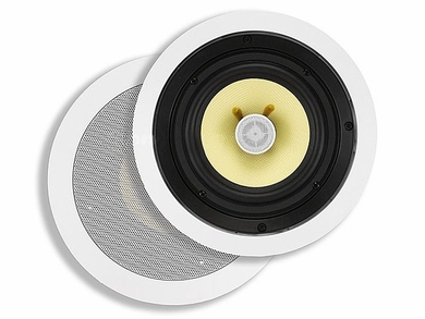 MonoPrice 4103 Pair of 6.5 Inch Kevlar 2-Way In-Ceiling Speakers