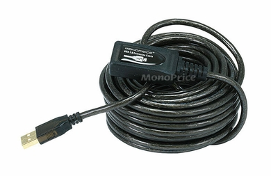 Monoprice 6149 Kinect Compatible 32 ft USB 2.0 M to F Extension Cable