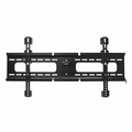 MonoPrice Ultra-Slim Fixed Wall Mount Bracket for 37-70 inch, BLACK