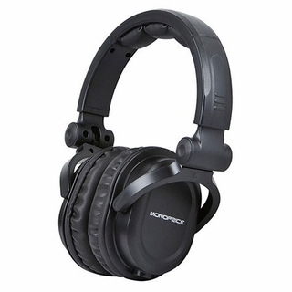 MonoPrice 8323 Premium Over-the-Ear DJ Style Pro Headphones