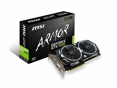MSI GeForce GTX1080 Armor 8G OC Graphics Card