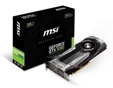MSI GTX 1080 Founders Edition GeForce GTX1080 Founders Video Card