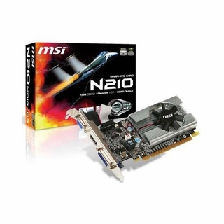 MSI N210-MD1G/D3 GeForce 210 PCI-Express x16 Video Card with 1GB DDR3