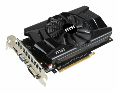 MSI N750TI-2GD5/OC GeForce GTX 750 Ti 2GB GDDR5 PCI-E 3.0 Video Card