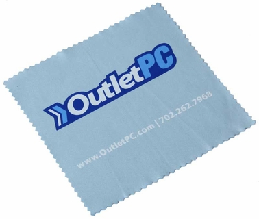 OutletPC Microfibre LCD Screen Cleaner (Blue)