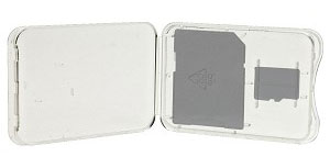 Plastic Jewel Case for MicroSD Cards