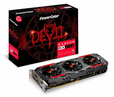 PowerColor RED DEVIL RX 570 DirectX 12 AXRX 570 4GBD5-3DH/OC 4GB 256-Bit GDDR5 PCI-E 3.0 Video Card