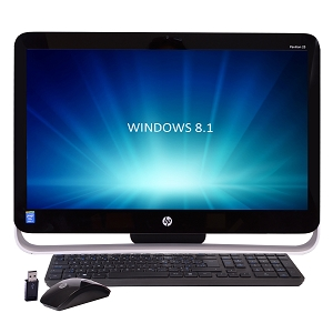 "HP Pavilion 21-H013W B TouchSmart 21.5"" All-in-One PC Refurbished w/ Windows 8.1"