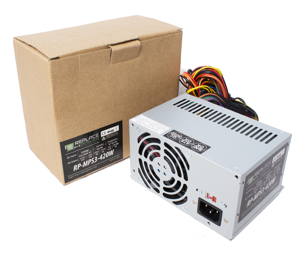 replace power rp mps3 420 420w micro ps3 power supply 75 replacepower rp mps3 420 420w microps3 atx power supply hipro power supply wiring diagram at gsmx.co