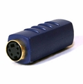 S-Video Female to Female Coupler - Gold Plated
