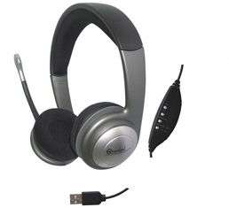 Syba Stereo USB Headset with Microphone